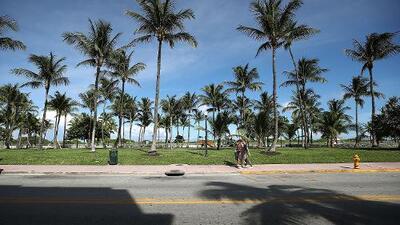 Calor y cielo ligeramente nublado para este miércoles en Miami