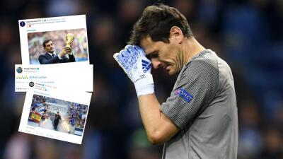 ¡Fuerza, Iker! El mundo del fútbol y el deporte le envió un mensaje de aliento al portero español