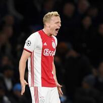 Van de Beek rechaza al Tottenham por el Real Madrid