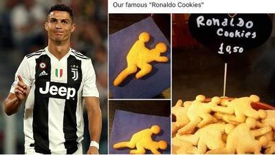 Venden galletas 'eróticas' de Cristiano Ronaldo inspiradas en su escándalo de abuso sexual