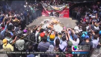 Violenta jornada de elecciones en México