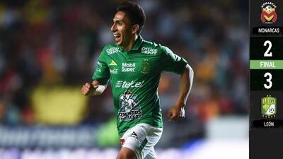 Morelia 2-3 León - RESUMEN Y GOLES – Clausura 2019 Liga MX