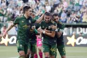El resumen: con goles latinos Portland Timbers derrota 2-1 a Sporting Kansas City