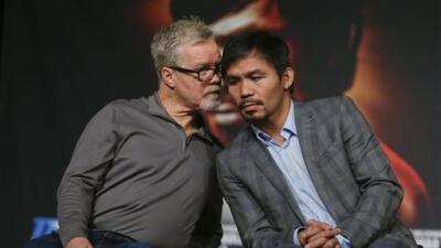 Freddie Roach: 'No creo que Manny Pacquiao se retire'