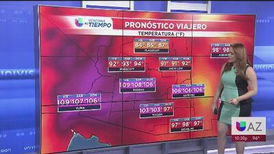 Arizona tendrá un fin de semana con temperaturas de tres dígitos