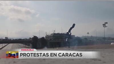 Levantamiento militar de la oposición al mandato de Maduro