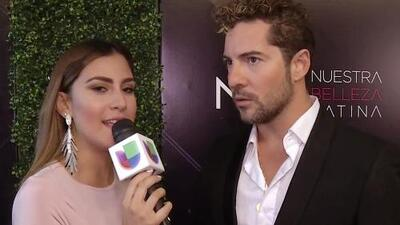 David Bisbal aplaude que no existan tallas ni límites para las concursantes de Nuestra Belleza Latina