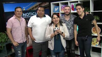 Banda Los Sebastianes habla de su presentación en Phoenix