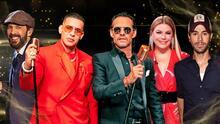 Marc Anthony, Daddy Yankee y otros ocho artistas que han sido los más ganadores de Premio Lo Nuestro