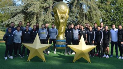 Formación de campeón del mundo: DTs de fuerzas básicas en clubes MLS inician curso con la FFF