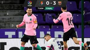 ¡Messi histórico! Lionel rebasó a Pelé y sentenció triunfo del Barça