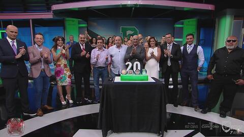 ¡Felices 20 años, República Deportiva! El presidente de UDN agradeció a su equipo y al público