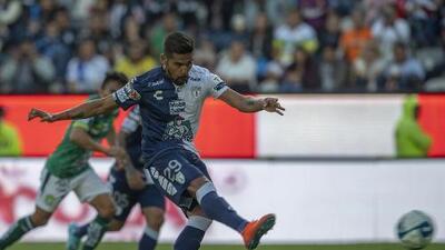 Franco Jara, máximo goleador del Pachuca
