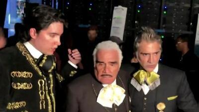 Todo lo que pasó tras bambalinas con los tres Fernández después de sus actuaciones en Latin GRAMMY