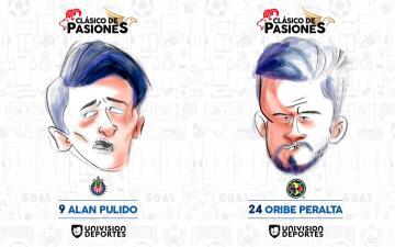 ¡Hilarantes!, las caricaturas de los cracks del Superclásico entre Chivas y América