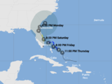 Live: Stay up to date with the path of tropical storm nine
