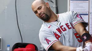 Los Angeles Angels le dieron las gracias a Albert Pujols
