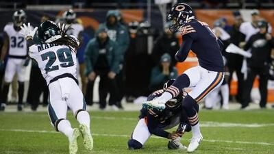 Los Osos de Chicago dicen adiós al Super Bowl al caer ante las Águilas de Filadelfia en casa