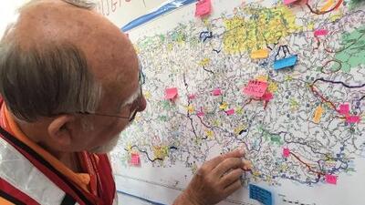 Los miles de cartógrafos que están ayudando a Puerto Rico en medio de la crisis