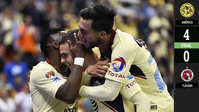 ¡Águila imponente! América goleó a Xolos y, después de 28 años, está en la Final de Copa MX