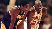 Michael Jordan presentará a Kobe Bryant en el Salón de la Fama del Baloncesto