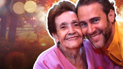 Carlos de la Mota dio el último adiós a su abuelita con un emotivo mensaje