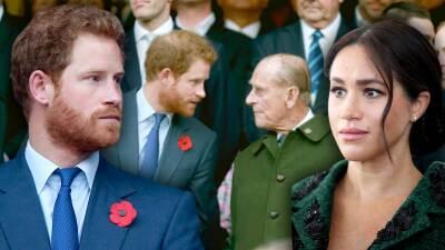 """""""Uno sale con las actrices, no se casa con ellas"""": el abuelo del príncipe Harry le advirtió sobre Meghan"""