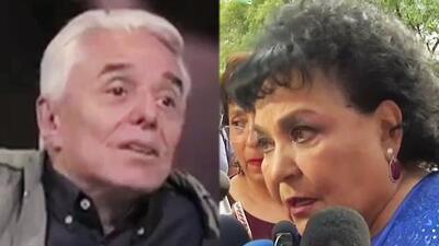 Enrique Guzmán amenaza de muerte en TV a Carmen Salinas por querer ayudar a Frida y ella hace fuertes revelaciones