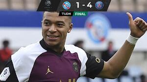 Mbappé se luce en triunfo un PSG que sigue al acecho del  Lille