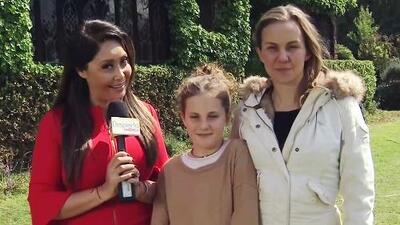 La hija de Michelle Vieth quiere llorar como su mamá y ya sigue sus pasos en la actuación