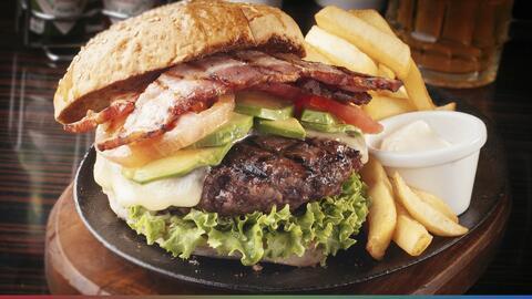 Lanzan hamburguesa con salsa de marihuana