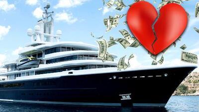 Luna, el mega yate de 500 millones de dólares protagonista del divorcio más caro de Reino Unido