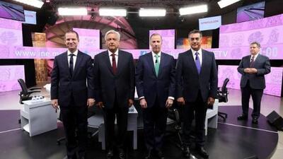 Más corrupto serás tú: en vez de proponer, los candidatos se atacan en el último debate presidencial de México