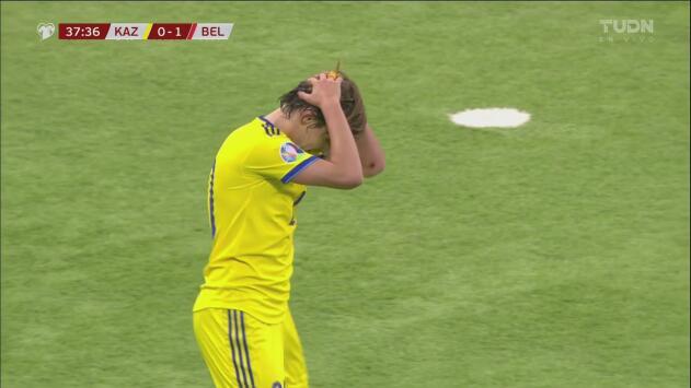 Kazajistán puso tensión ante Courtois, Fedin hizo todo bien, pero no pudo definir