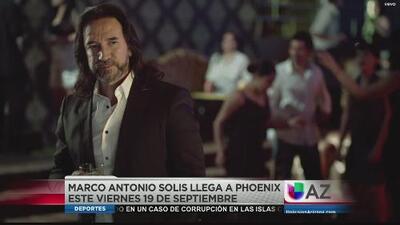 Marco Antonio Solis llega a Phoenix