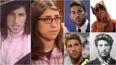 Sergio Ramos se parece a...: el divertido challenge al que le saca provecho el defensa del Real Madrid