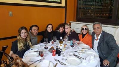 Verónica Castro celebró el cumpleaños de su mamá Doña Coco