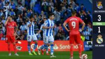 Los 'merengues' no levantan: Con Héctor Moreno como titular, Real Sociedad venció al Real Madrid