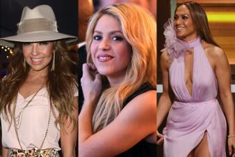 Mira cuánto pesan Shakira, Jennifer López, Thalía y otras famosas