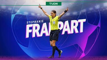Stéphanie Frappart hará historia en la Champions League