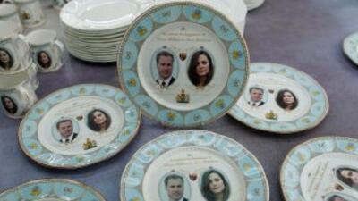 La vajilla oficial de la boda real británica, a la venta
