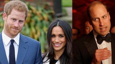 Con la boda de su hermano Harry, el príncipe William se podría 'quitar' un peso de encima