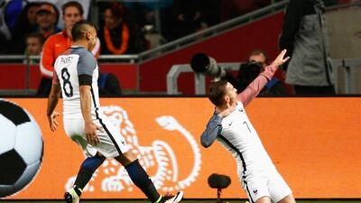 Holanda 2-3 Francia: Los Galos se imponen a la 'Oranje' entre el recuerdo de Cruyff