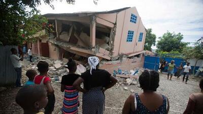 Al menos 12 muertos y 188 heridos deja sismo de magnitud 5.9 en Haití