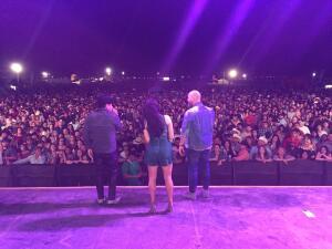 En Imágenes: Una noche inolvidable para El Bueno, La Mala y El Feo en Fresno