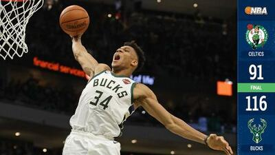 Los Bucks liquidan a los Celtics y van a la Final del Este