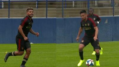 Josef y 'Pity' Martínez mandan claro mensaje para la Concachampions en goleada de Atlanta United