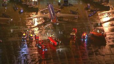 Evacúan avión de Southwest Airlines en California por fuego al interior de la cabina