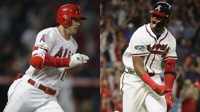 El venezolano Acuña y el japonés Ohtani son Novatos del Año en las Grandes Ligas