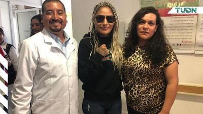 La 'Barby' Juárez se une a la lucha contra el cáncer de mama